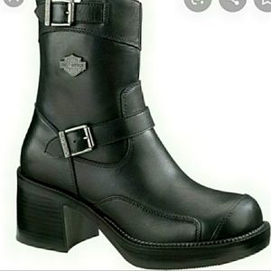 Harley Davidson Womens Gypsy Leather boots